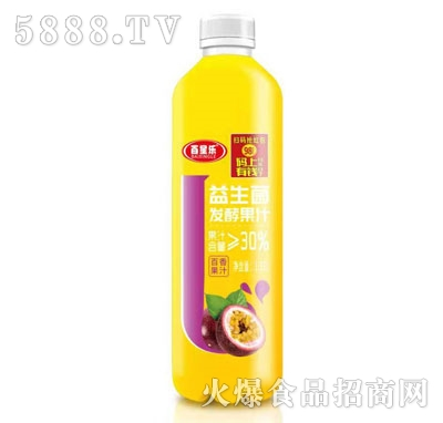 百星乐益生菌发酵百香果汁