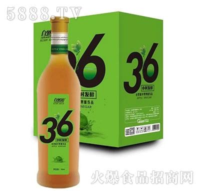 自然道36小时发酵苹果醋饮品