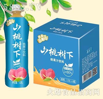 山桃树下桃果汁饮料1.25Lx6