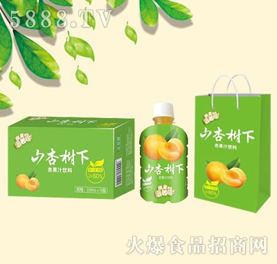 山杏树下杏果汁饮料350mlx15瓶