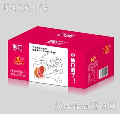 葡口蜜柚果汁饮料380mlX15