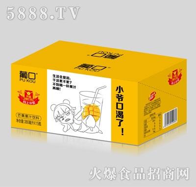 葡口芒果果汁饮料380mlX15