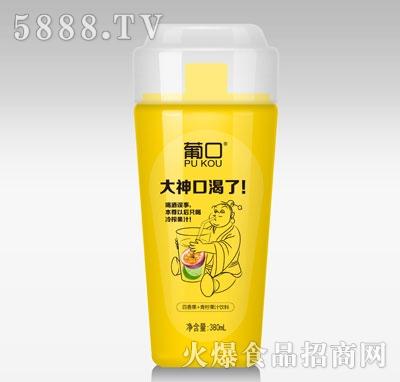 葡口百香果+青柠果汁饮料380ml