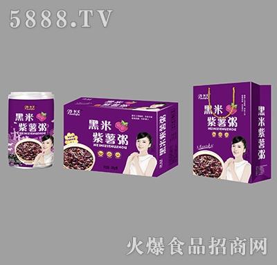 金利发黑米紫薯粥产品图