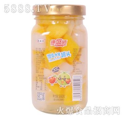 德盛恒混合水果罐头560g产品图