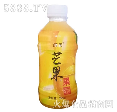 醉奥芒果果园芒果汁350ml