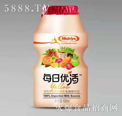 每日优活乳酸菌饮品100ml