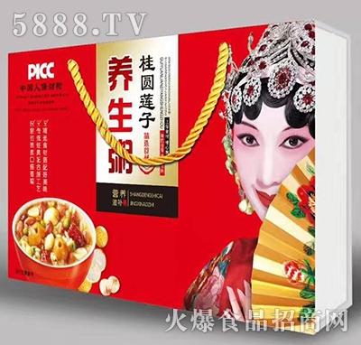多米滋桂圆莲子养生粥礼盒产品图