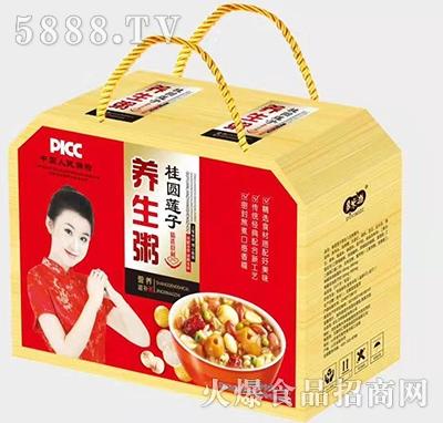 多米滋桂圆莲子养生粥手提礼盒产品图
