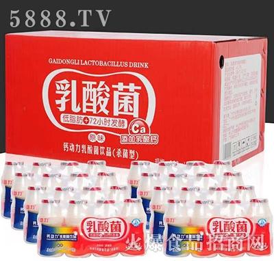钙动力乳酸菌饮料原味