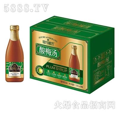 祖传磨坊酸梅汤1.25Lx6瓶
