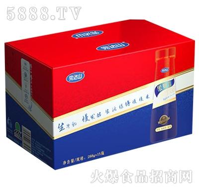 完达山果奶昔酸奶草莓+蔓越莓+蓝莓288gx15