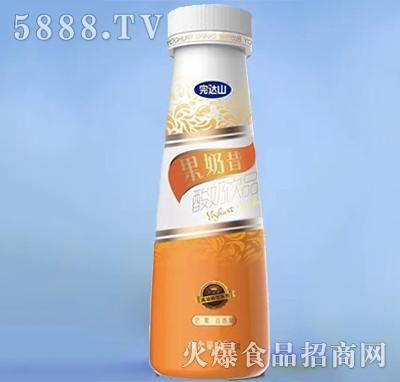 完达山果奶昔酸奶芒果+百香果288g