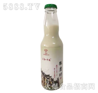 徽磨坊多纤维燕麦豆奶