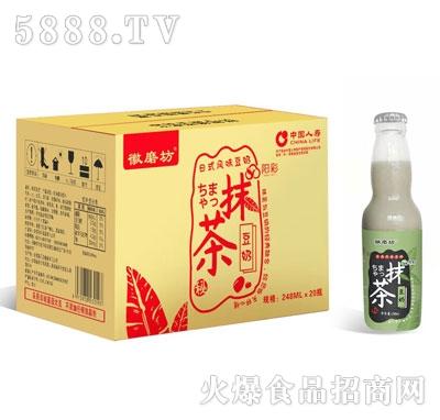 徽磨坊抹茶豆奶248mlX20