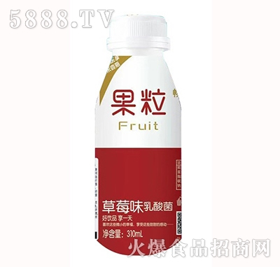 畅多纯草莓味乳酸菌饮品310ml