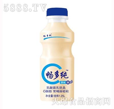 畅多纯乳酸菌饮品原味1.25L
