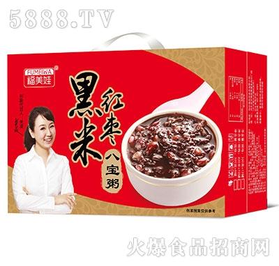 福美娃黑米红枣八宝粥