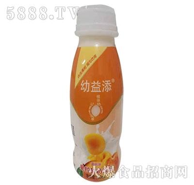 幼益添果粒酸奶黄桃味350ml