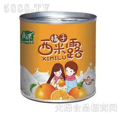 康运来约吗橘子西米露酸奶口味罐头312g产品图
