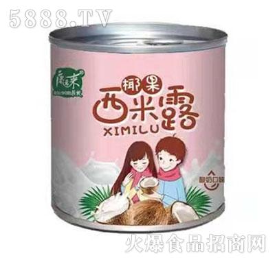 康运来约吗椰果西米露酸奶口味罐头312g产品图