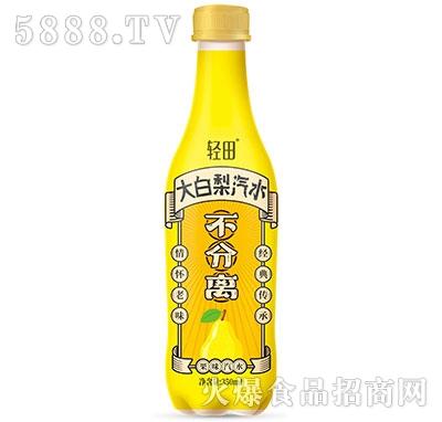 轻田大白梨汽水350ml