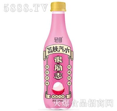 轻田荔枝汽水350ml