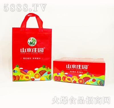 山水庄园水果罐头箱装+礼盒装