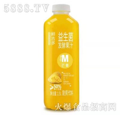 鲜吉多益生菌发酵芒果汁1.5L
