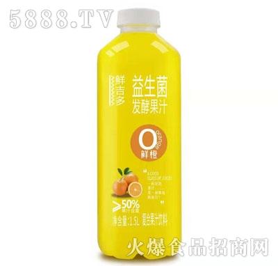 鲜吉多益生菌发酵鲜橙汁1.5L