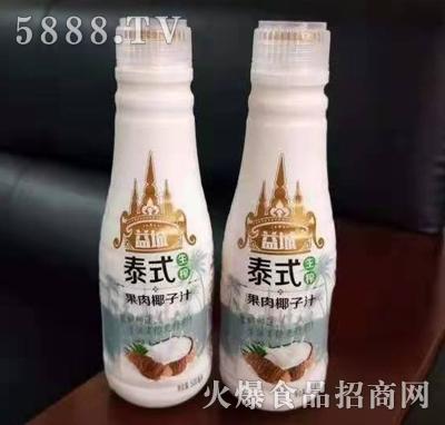 益城泰式果肉椰子汁500ml*15支产品图