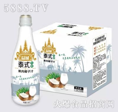益城泰式果肉椰子汁1.25L*6支产品图