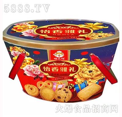 猫大师铁盒怡香雅礼888g