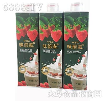 味倍滋乳酸菌饮品草莓味1L