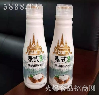 益城泰式生榨果肉椰子汁500ml产品图