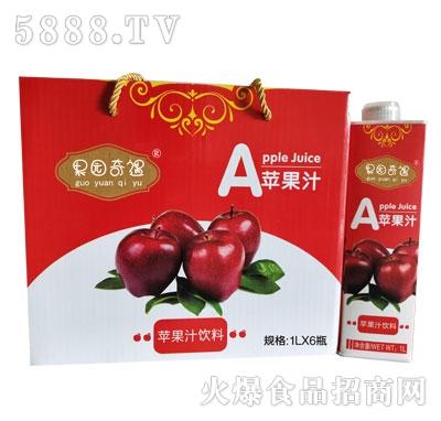 果园奇遇苹果汁饮料1LX6