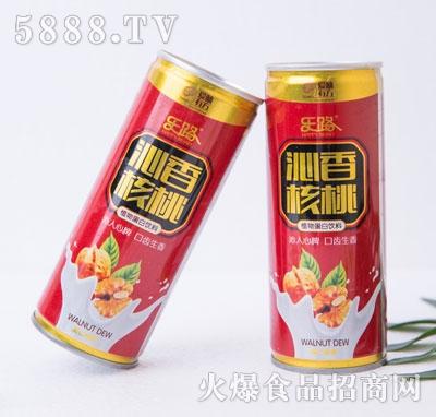 乐路沁香核桃植物蛋白饮料