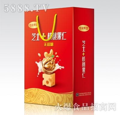 传奇果园芝士+核桃果仁植物蛋白饮品(礼袋)