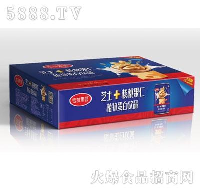 传奇果园芝士+核桃果仁植物蛋白饮品(箱)