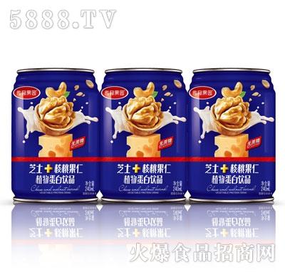 传奇果园芝士+核桃果仁植物蛋白饮品240ml