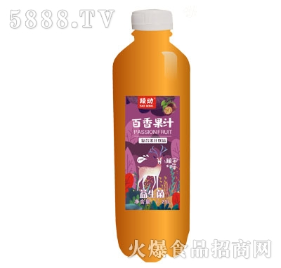 躁动益生菌百香果汁