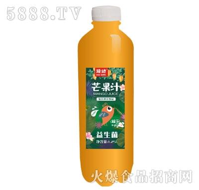 躁动益生菌芒果汁