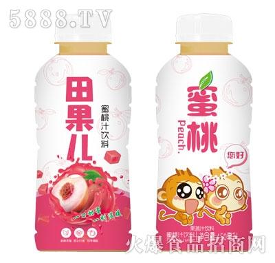田果儿蜜桃果蔬汁饮料450ml