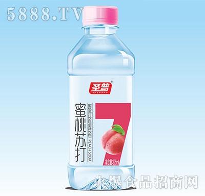 圣普蜜桃苏打水375ml
