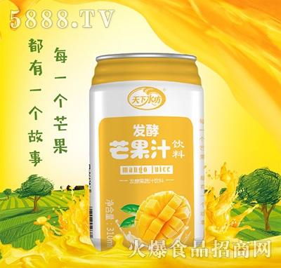 发酵芒果汁饮料310ml