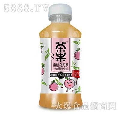 茶果蜜桃乌龙茶400ml产品图