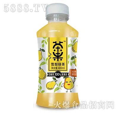 茶果雪梨绿茶400ml产品图