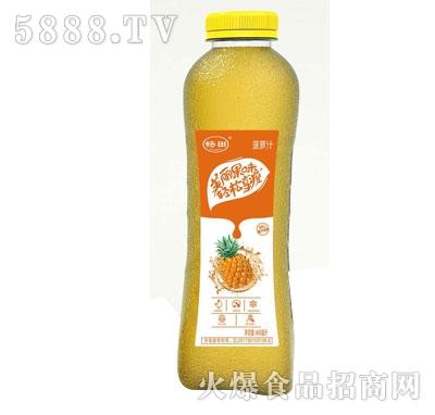 畅田菠萝汁468ml