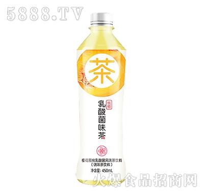 天下水坊樱花蜜桃乳酸菌风味茶饮料450ml
