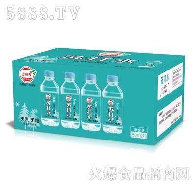友利友苏打水350mlX24瓶
